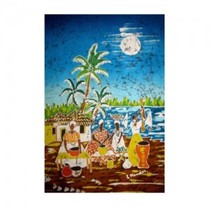 Pintura em tecido – baianas