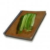 Caderno de receitas gastronômicas