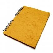 Agenda permanente Ágora capa em papel reciclado