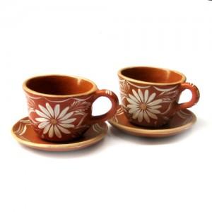 Xícaras de cerâmica – 2 unidades – Vale do Jequitinhonha