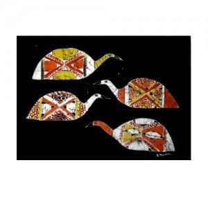 Batik – pá de beiju pássaros