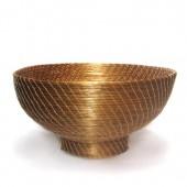 Fruteira redonda de Capim Dourado G