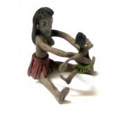 Índia com filho – balata