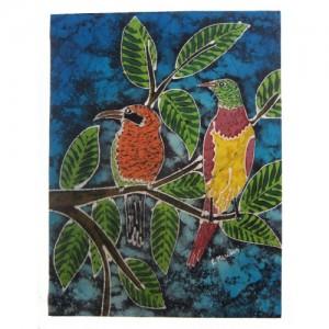 Batik – série pássaros do Brasil