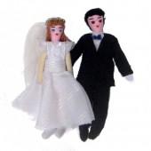 Casal de noivos – casa da boneca esperança- PB