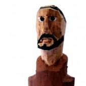 São Francisco de Assis – escultura em madeira – RJ