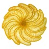 *Centrinho amarelo – bananas-  renda de agave – PI
