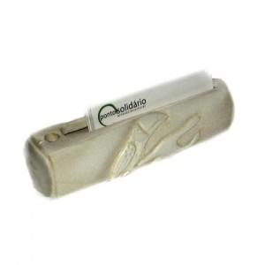 Porta caneta e porta cartões – Osso – MS