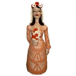 Noiva vestido duas cores – Vale do Jequitinhonha – MG