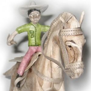 Cavalo montado G – balata – PA