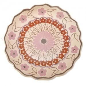 Prato de parede – cerâmica – Vale do Jequitinhonha