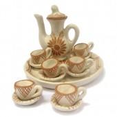 Mini aparelho de chá- cerâmica do Vale do Jequitinhonha- MG