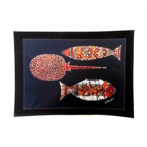 Americano étnico – peixes/arraia – SP