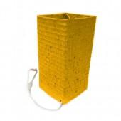 Luminária quadrada P- amarela- SP