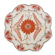 Prato de parede - cerâmica - Vale do Jequitinhonha