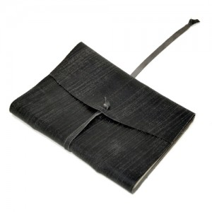 Caderno de musica – couro – SP