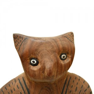 Coruja – escultura – etnia Mehinako – Xingu