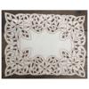 Toalha de bandeja branca – CE
