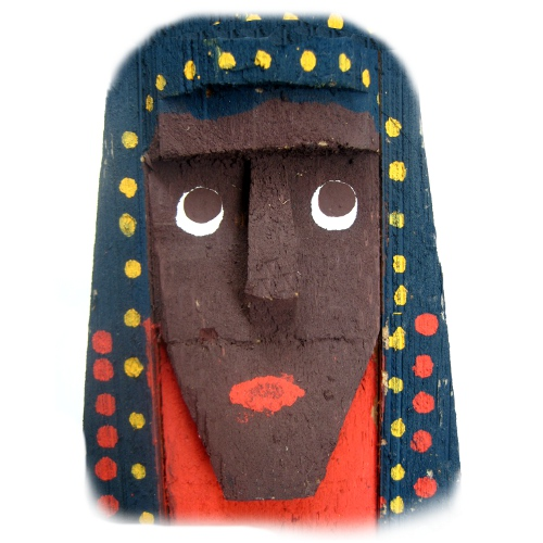 Totem de Buriti – Nossa Senhora Aparecida