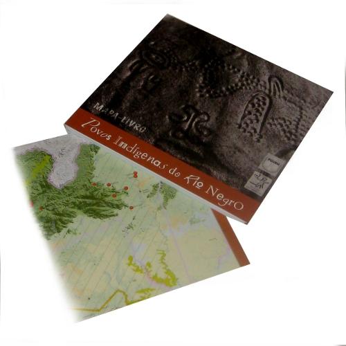 Mapa-Livro Povos Indígenas do Rio Negro
