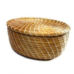 Capim dourado – caixa oval P – TO