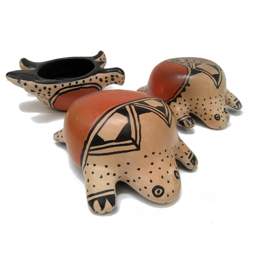 Cerâmica zoomorfa- jabuti – Xingu