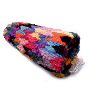 Passadeira colorida – lã de carneiro- SP